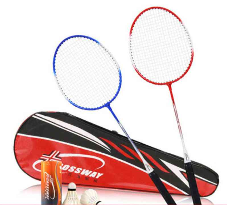 Durable Badminton Rackets Set