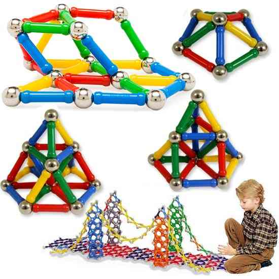 Magnetic Building Blocks, Child Intelligence Educational