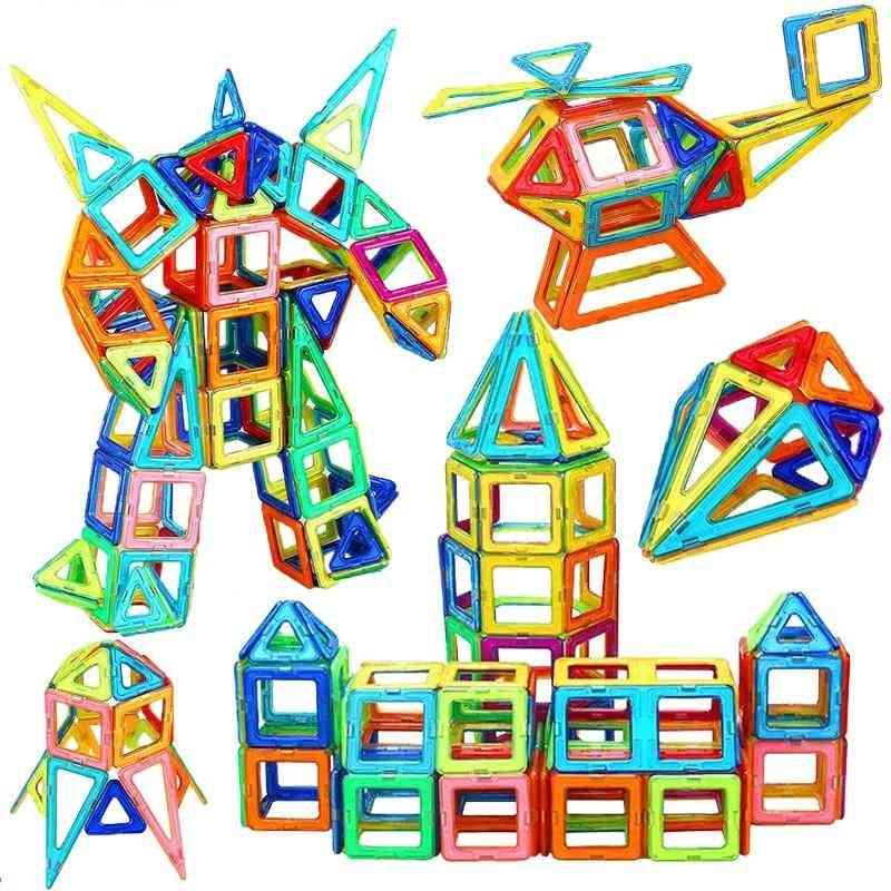 Big Size Designer Magnetic Square Building Constuction Blocks