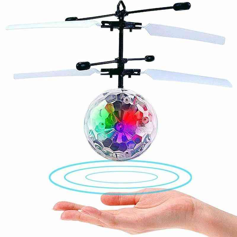 Suspension Ball, Induction Fashion Crystal Model Flying Ball Toy