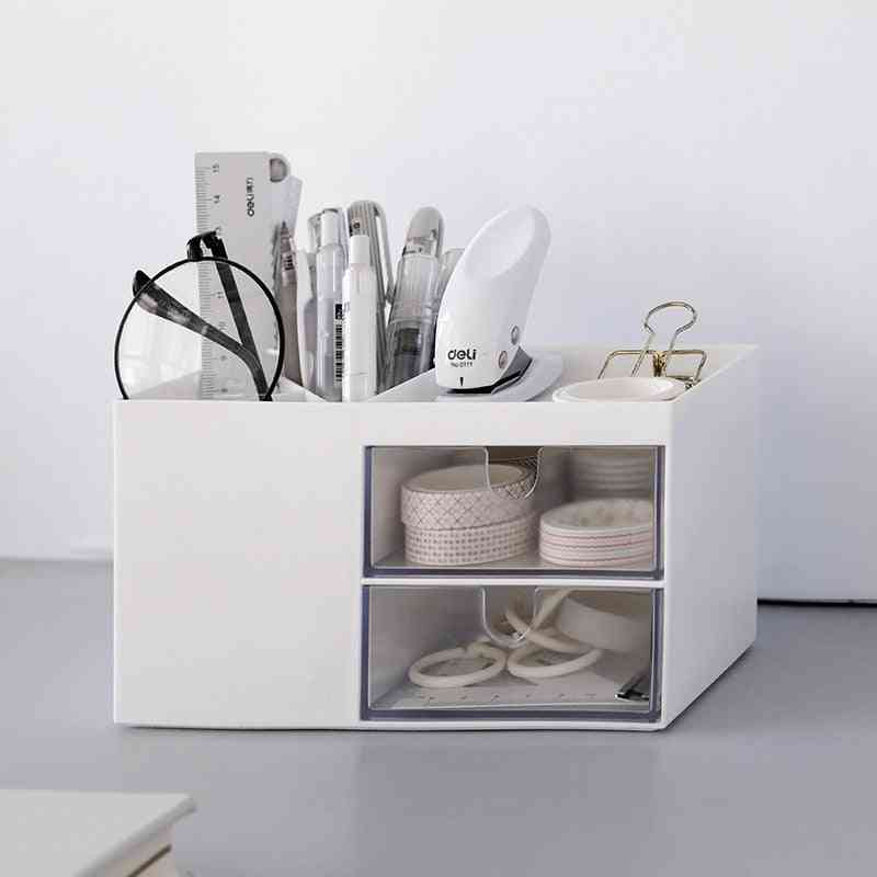 Creative Multifunctional Desktop Organizer, Holder, Case
