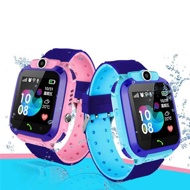 2g Smart Watch, Ip67 Sos Anti-lost Lbs Location Tracker Watches Toy