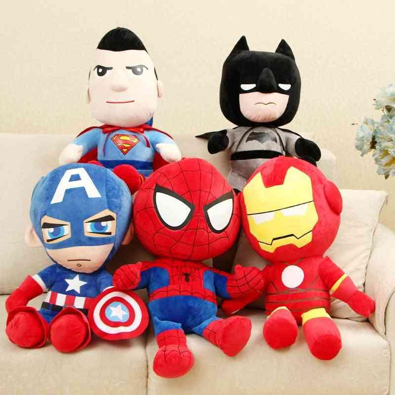 Captain America/iron Man/spiderman Shaped Soft Stuffed