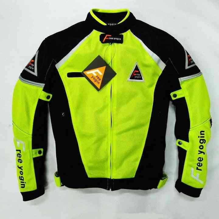 Summer Mesh Motorcycle Clothing, Automobile Race Flanchard Jacket