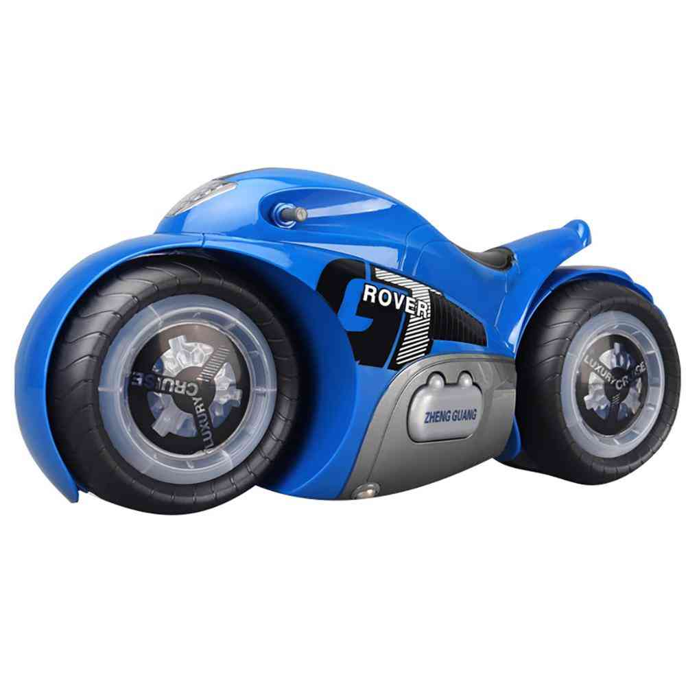 2.4g Mini Stunt Rc Motorcycle With Music Light Toy
