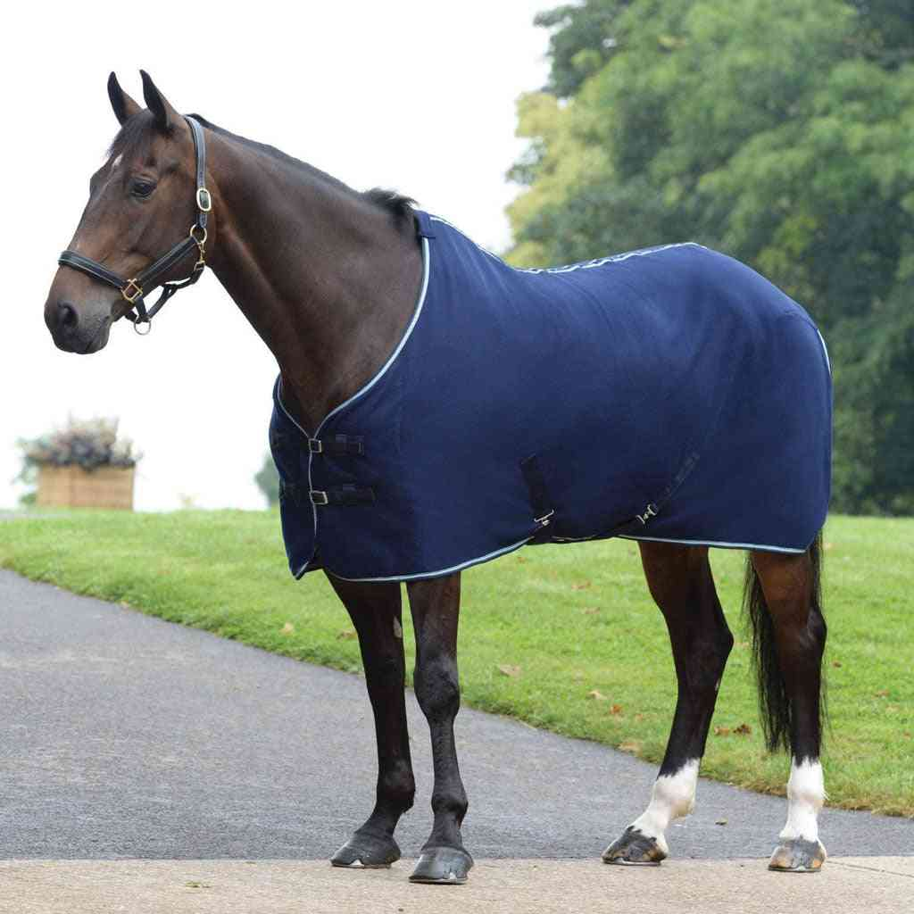 Polyester Waterproof Horse Turnout Blanket, Winter Warm Breathable Cotton Sheet
