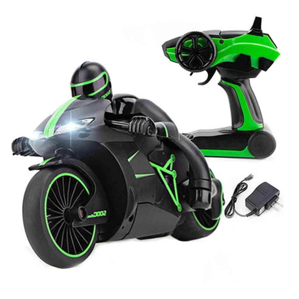 2.4g Mini Rradio Control, High Speed Drift Motorbike Model-led Toy