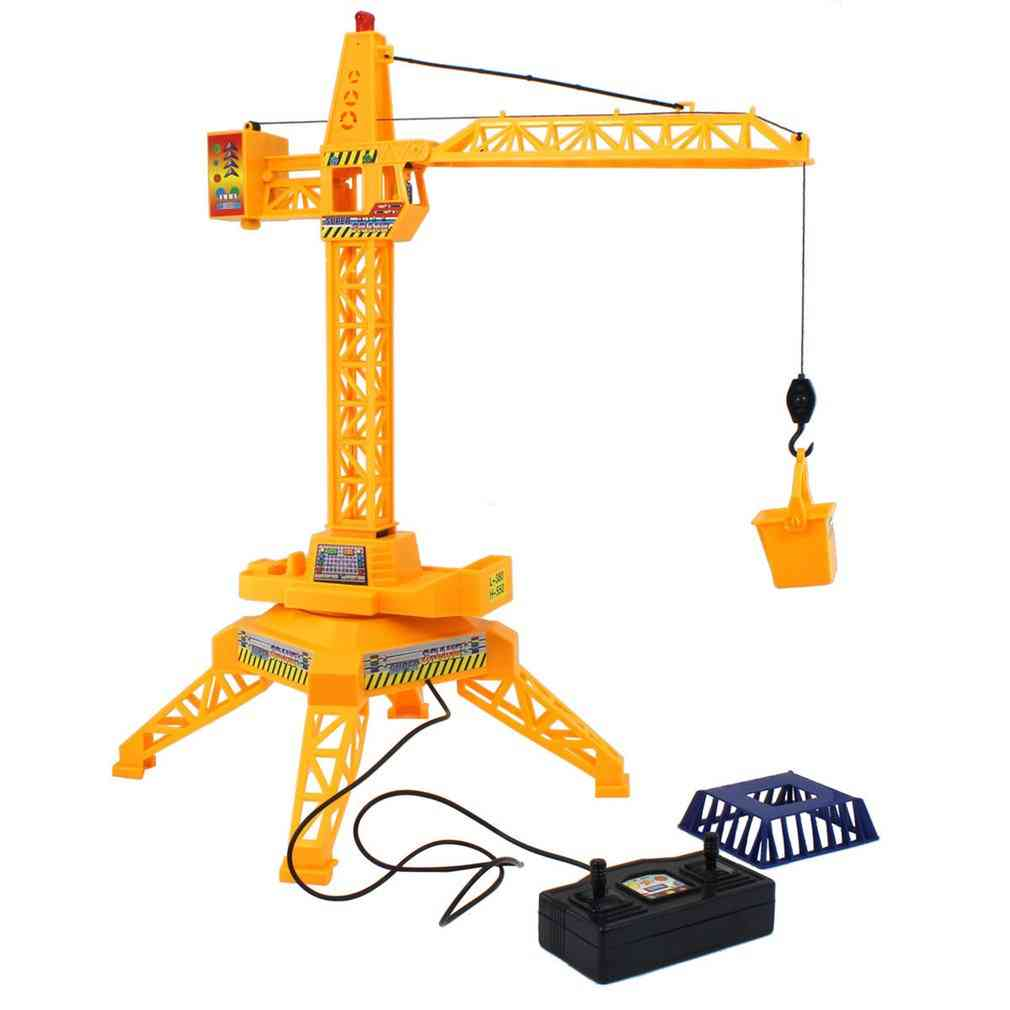 Electric Remote Control Tower Crane Toy Model For