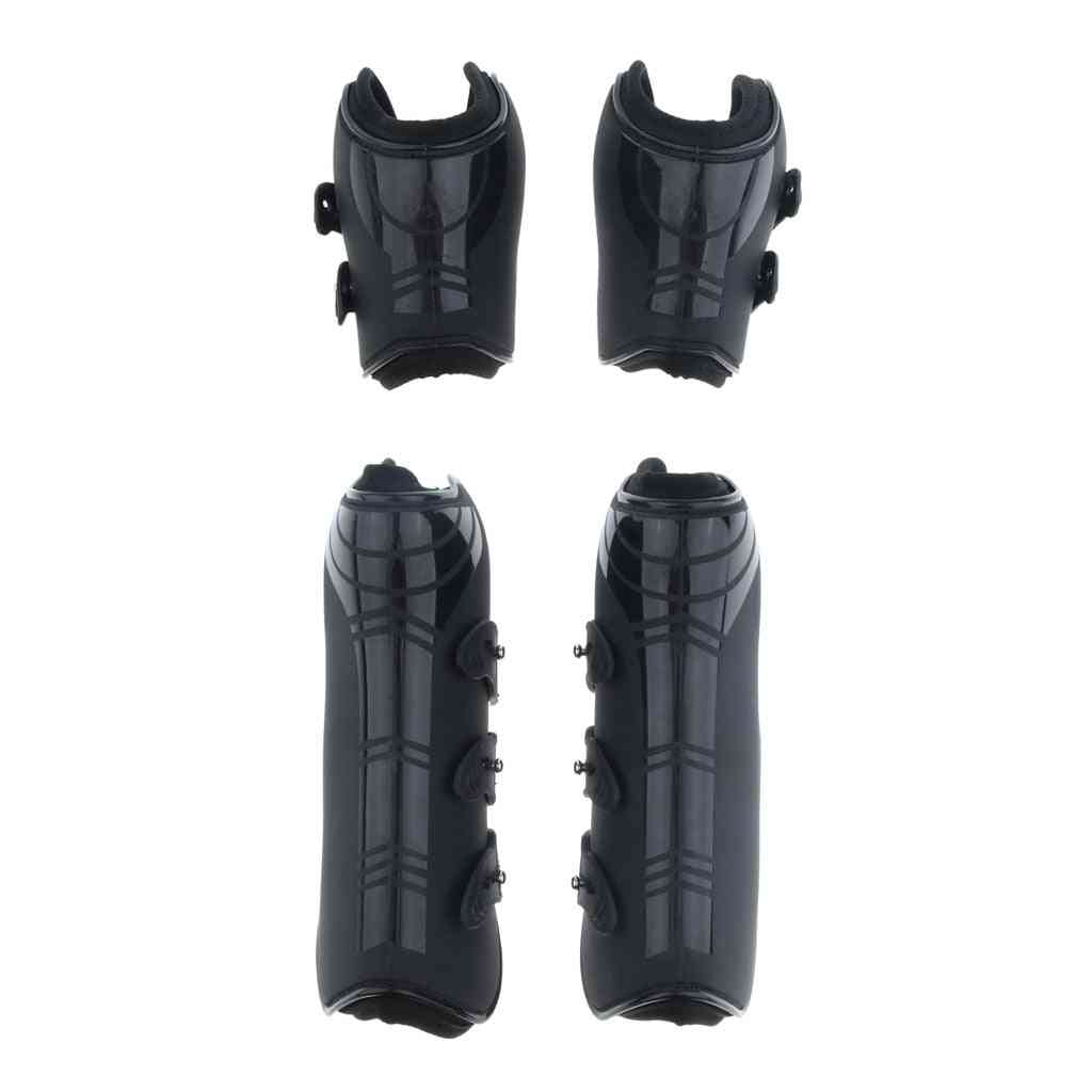 Open Front And Hind Horse Leg Boots-protective Gear