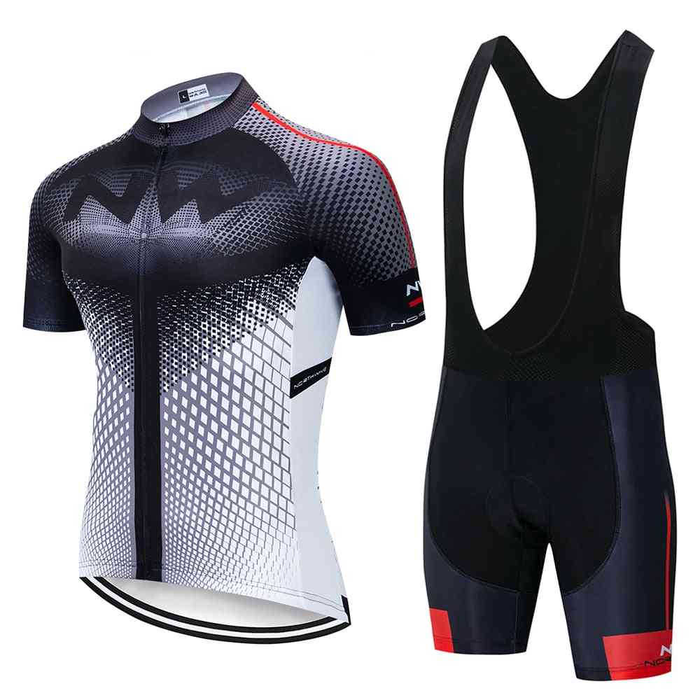 3d Cut And Breathable Cycling Jersey  Set-sportwear Clothing Suit