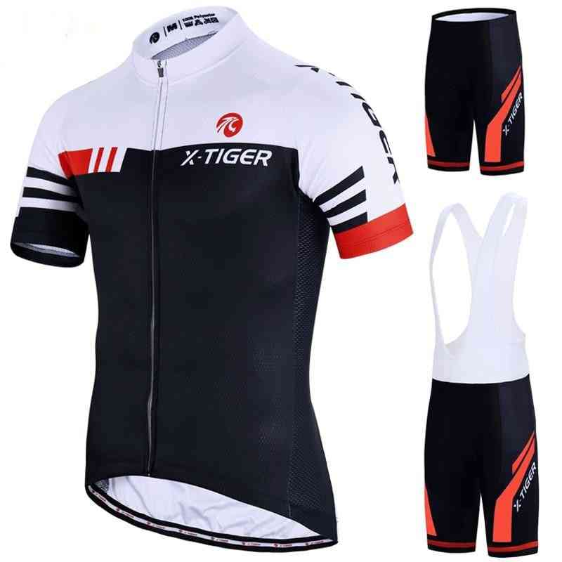 Bike Uniform Summer Cycling Jersey Set, Road Bicycle Mtb Wear Breathable Clothing