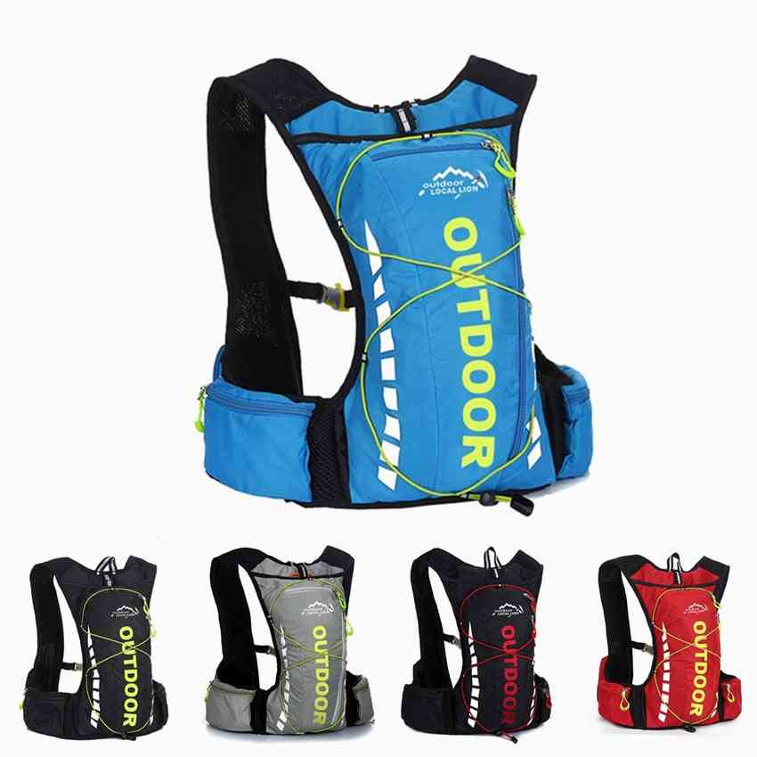 10l Waterproof Backpack For Cycling/hiking/camping