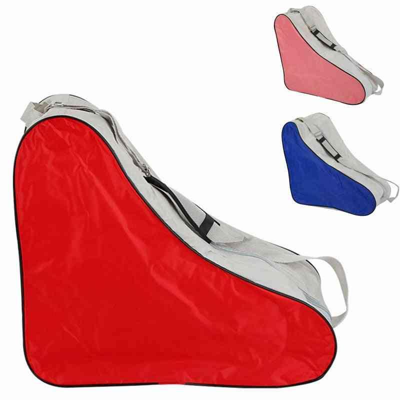 Adjustable Triangle Shaped, Roller Skating Bag For Outdoor Sport