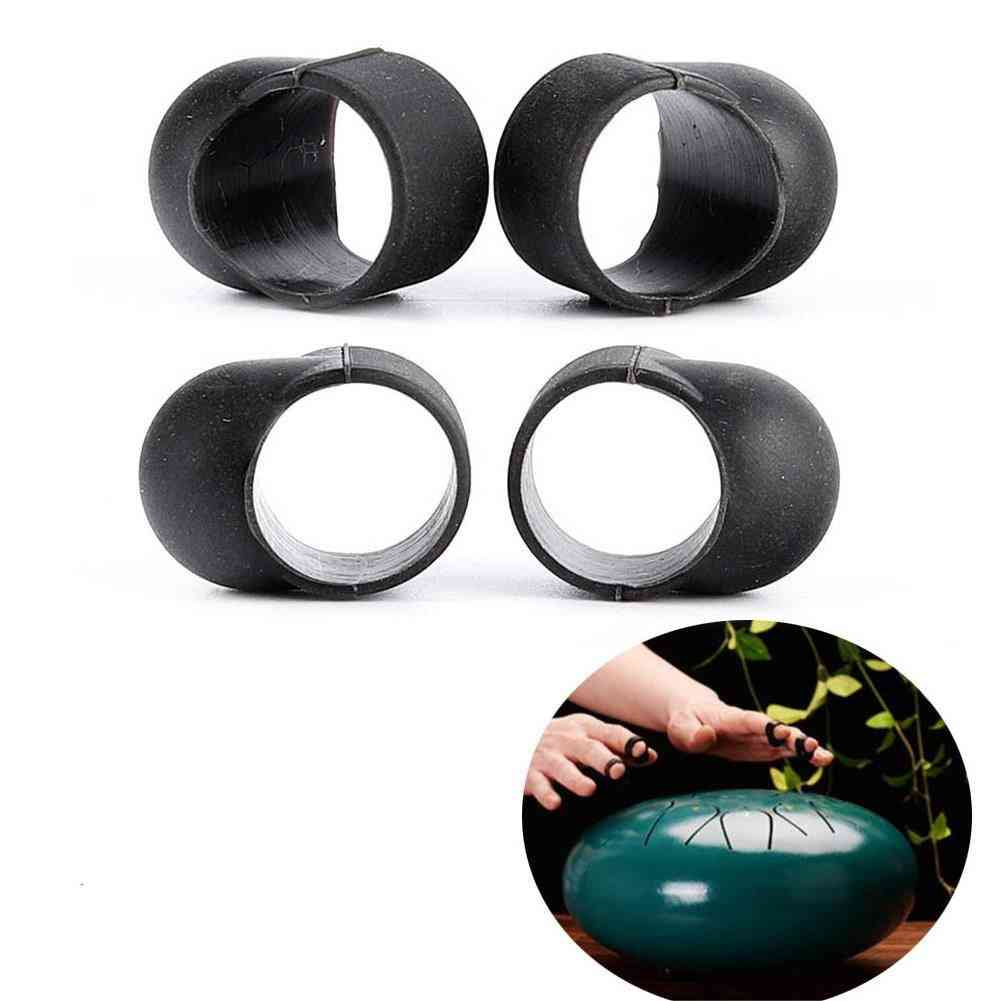 Drum Finger Sleeves Percussion Instruments Parts, Knocking Playing Fingers Cover