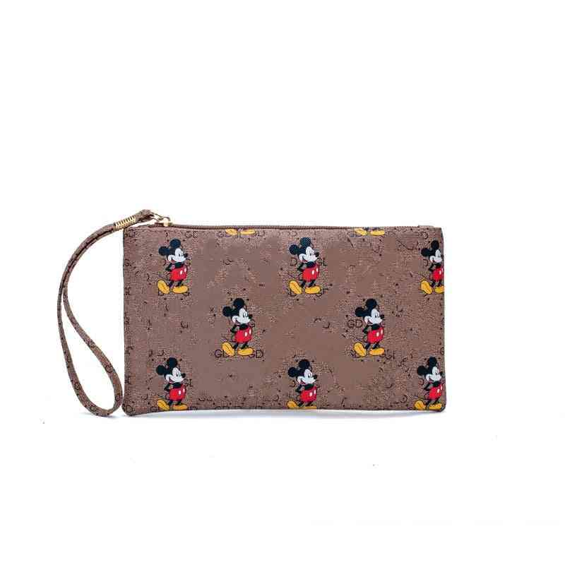 Mobile Wallet Mickey Mouse Clutch Bag, Coin Purse