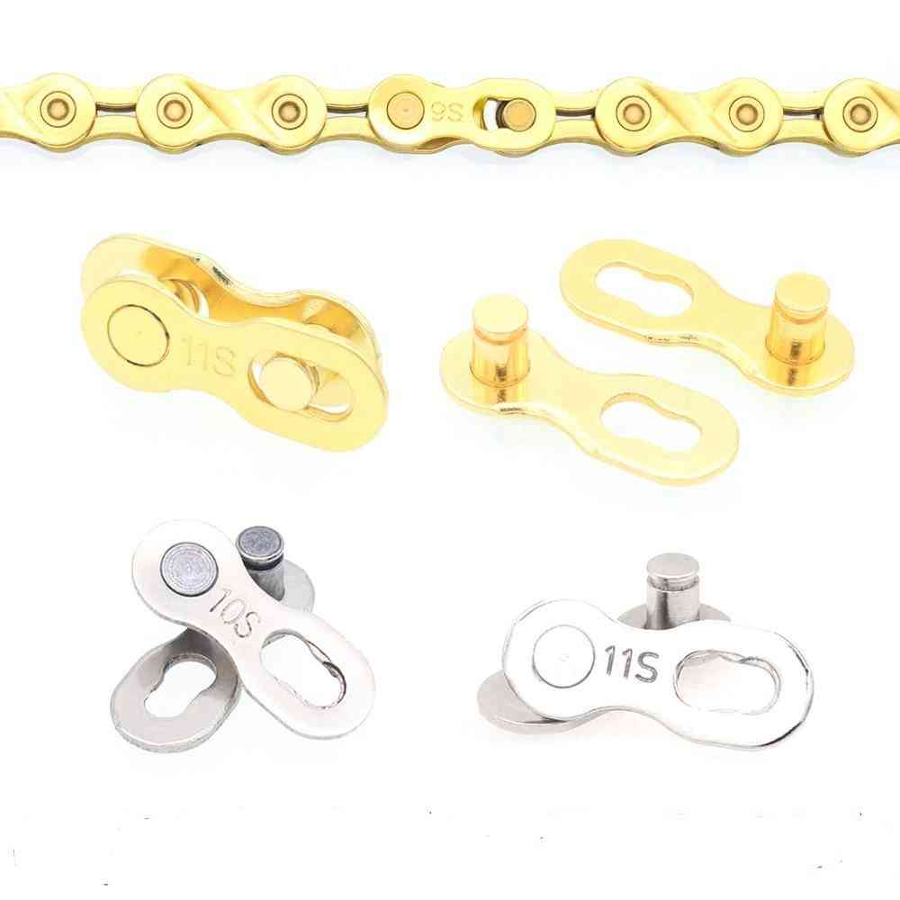 Bicycle Chain Connector Lock, Quick Link Road Bike Magic Buckle