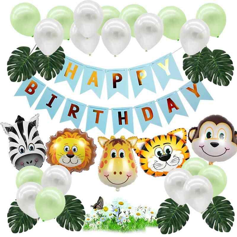 Lion & Tiger Animal Ballons For Decoration