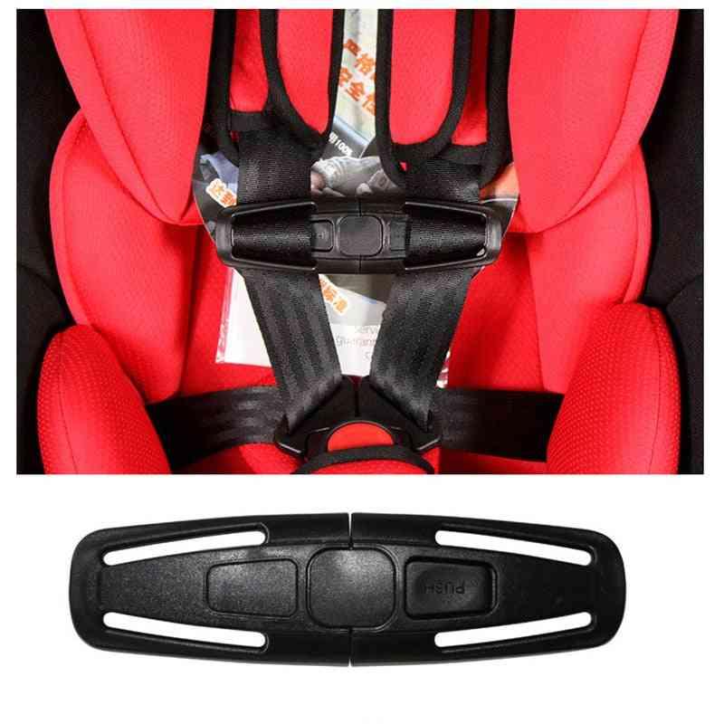 5 Point Seat Belt Shoulder Strap Slip-proof Chest Buckle