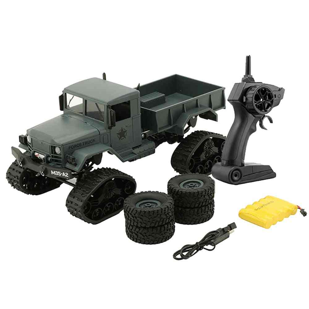 Remote Control, Off Road Racing Vehicle-2.4ghz Electric Military Truck