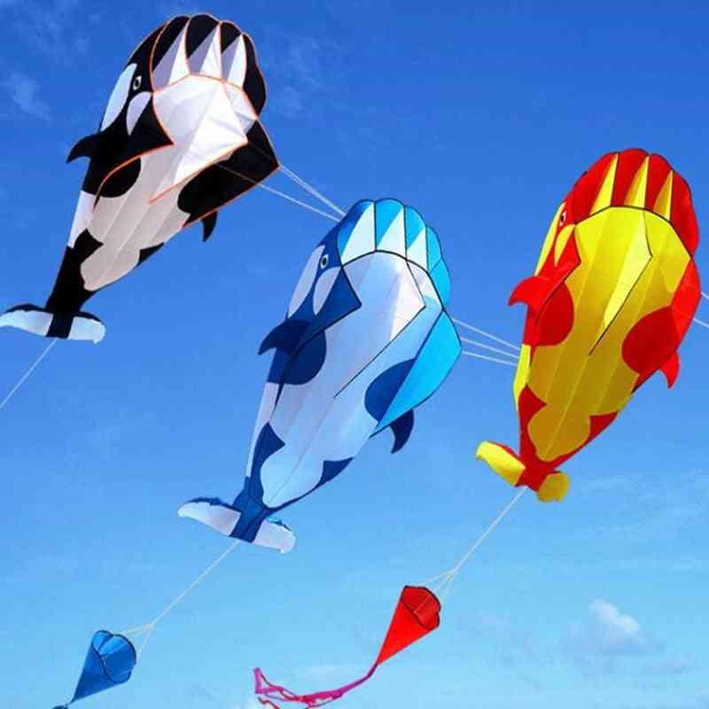 Outdoor Dolphin Nylon Fabric Kite