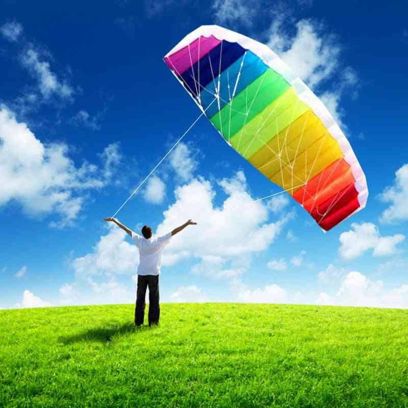 Dual-line Rainbow Parafoil Kite