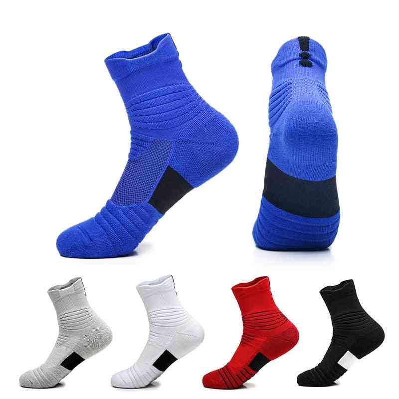 Professional, Anti-slip And Breathable Cotton Sports Socks