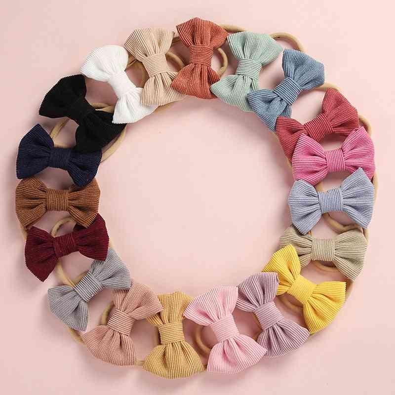Bow Design Baby Headband For Newborn