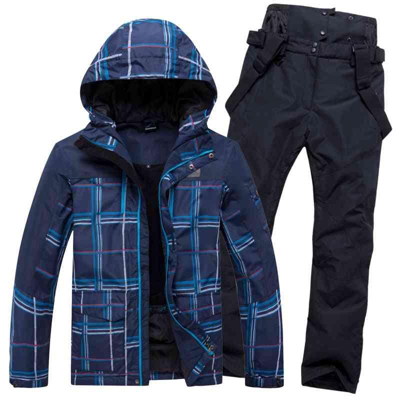 Winter Warm Waterproof Outdoor Sports Snow Jackets And Pants, Hot Ski Equipment Snowboard Jacket