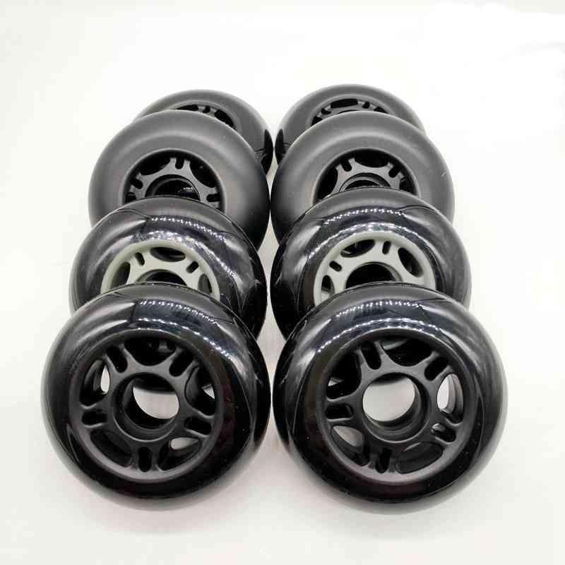Roller Skates Non-flashing Wheels