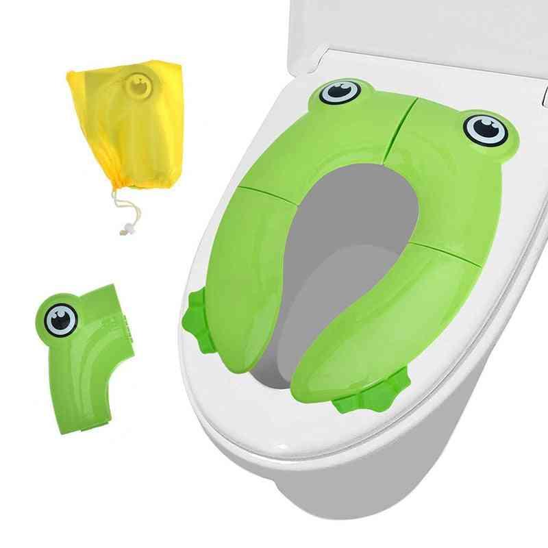 Foldable Potty Training Seat, Cover, Kids Travel Toilet Potty Seat