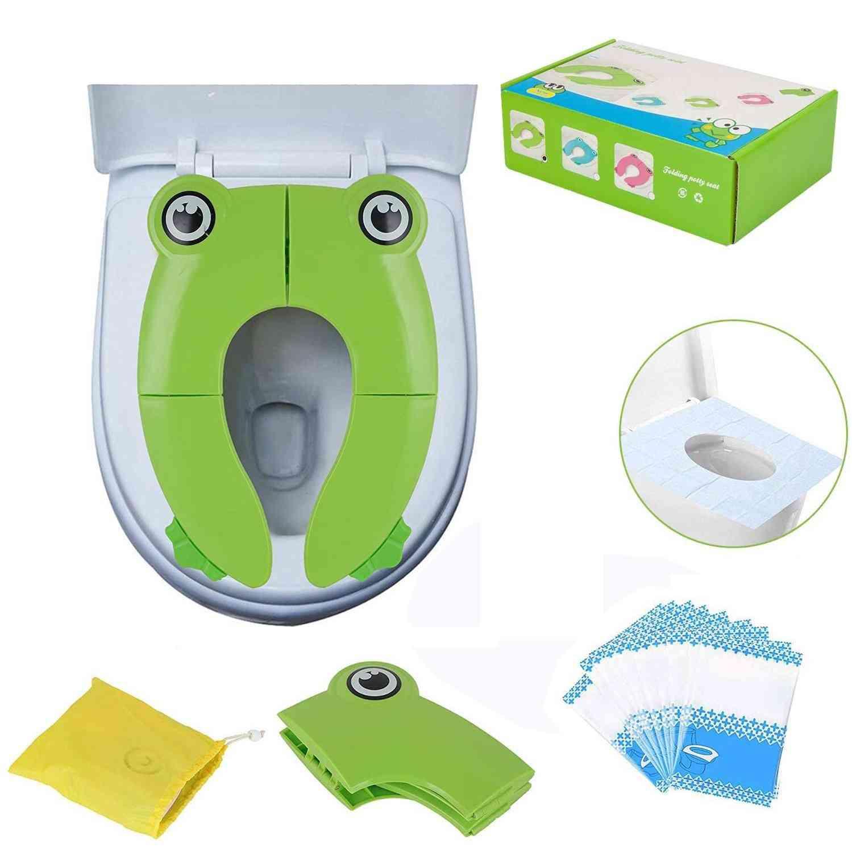 Potty Training, Non Slip Silicone Toilet Seat Covers