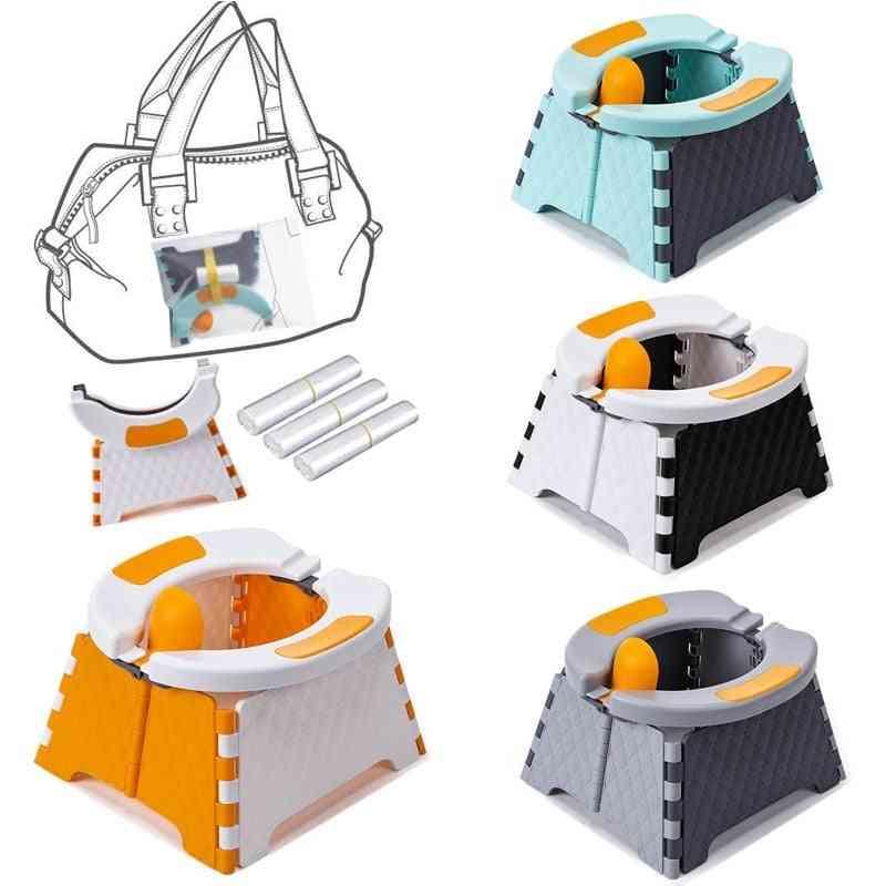 Foldable Potty / Toilet Training Pot