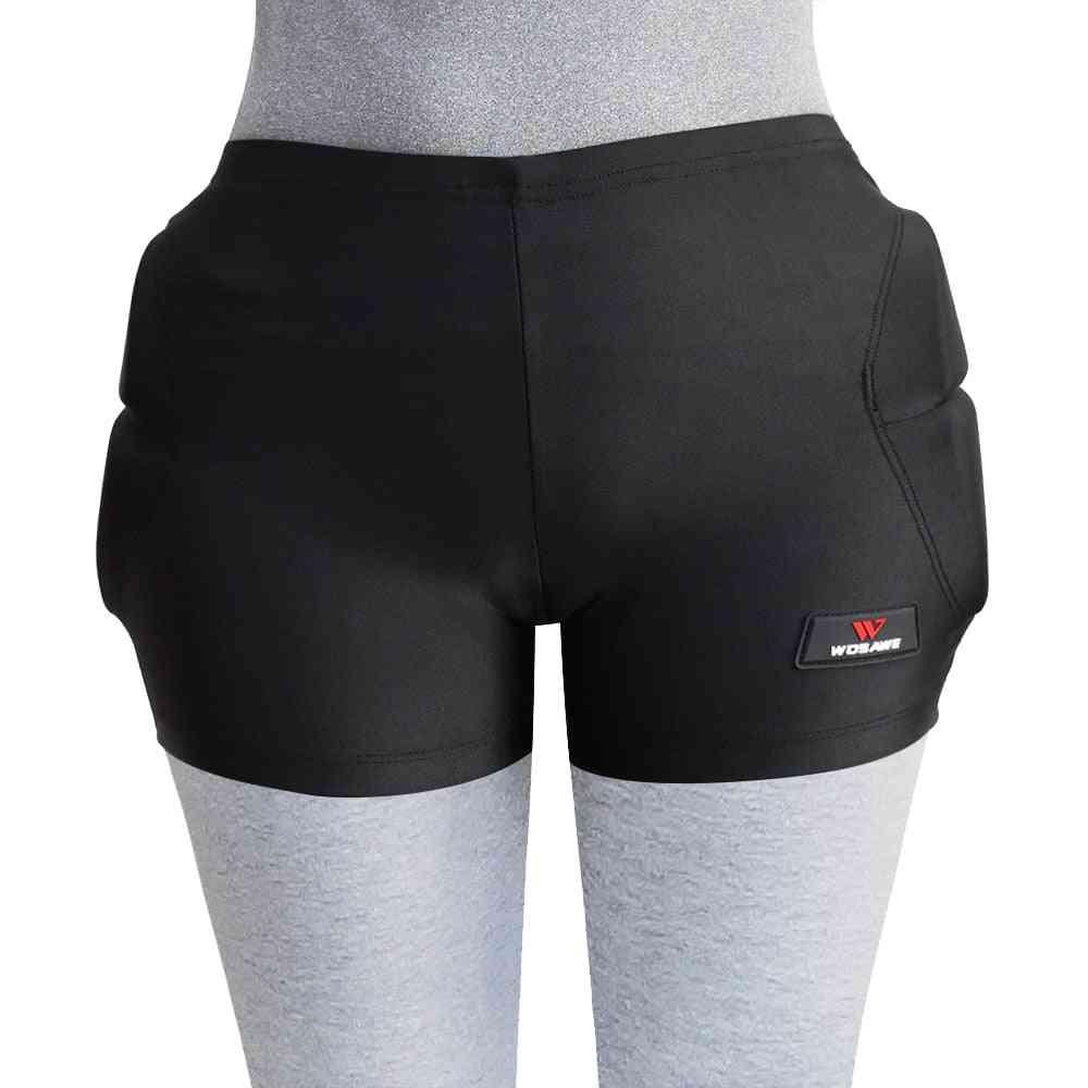 Eva Pad Men/women Snowboard Hip Protection Shorts