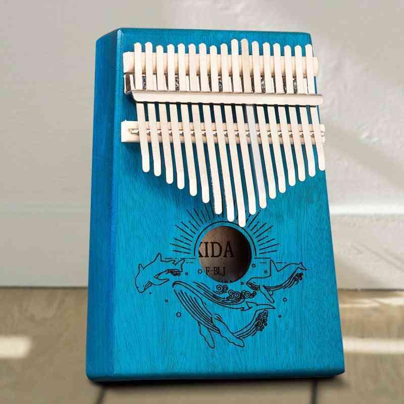 Piano Beautifully Musical Instruments, Mahogany Thumb Popular For Beginner