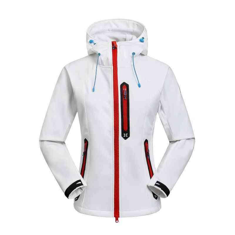 Waterproof Hooded Women's Snowboard Jacket