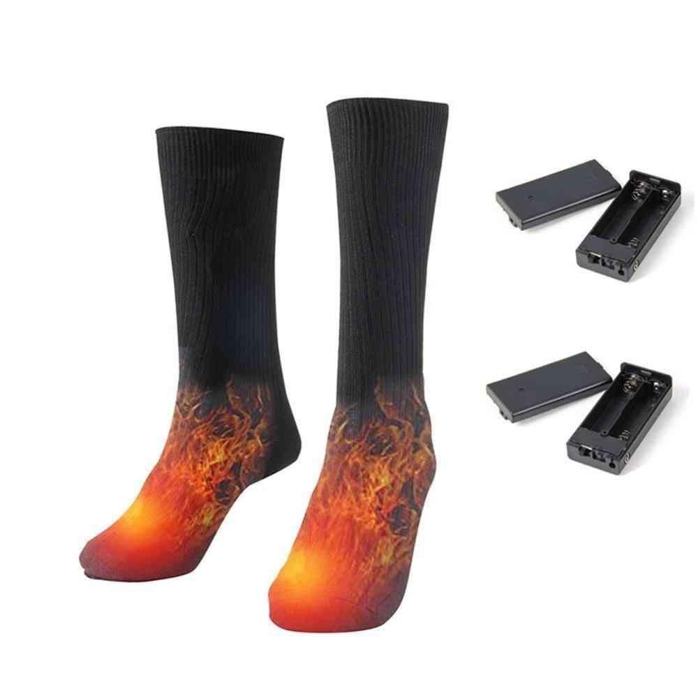 Men & Women Battery Operated Winter Foot Warmer Electric Socks