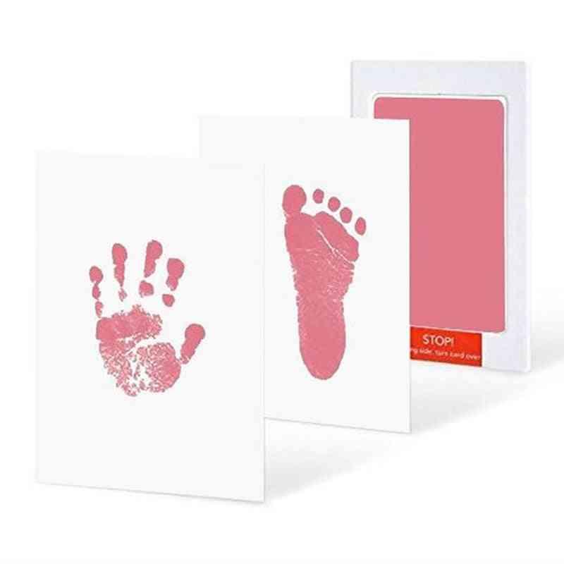 Handprint / Footprint - Imprint Cards And Ink Pads