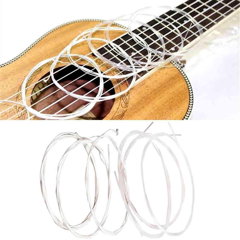 Nylon, Silver Strings Set For Classical Guitar