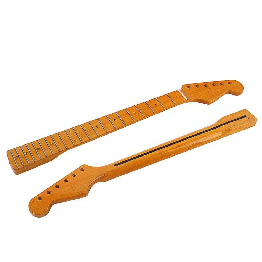 Wooden Fingerboard Neck For St Electric Bass Guitar