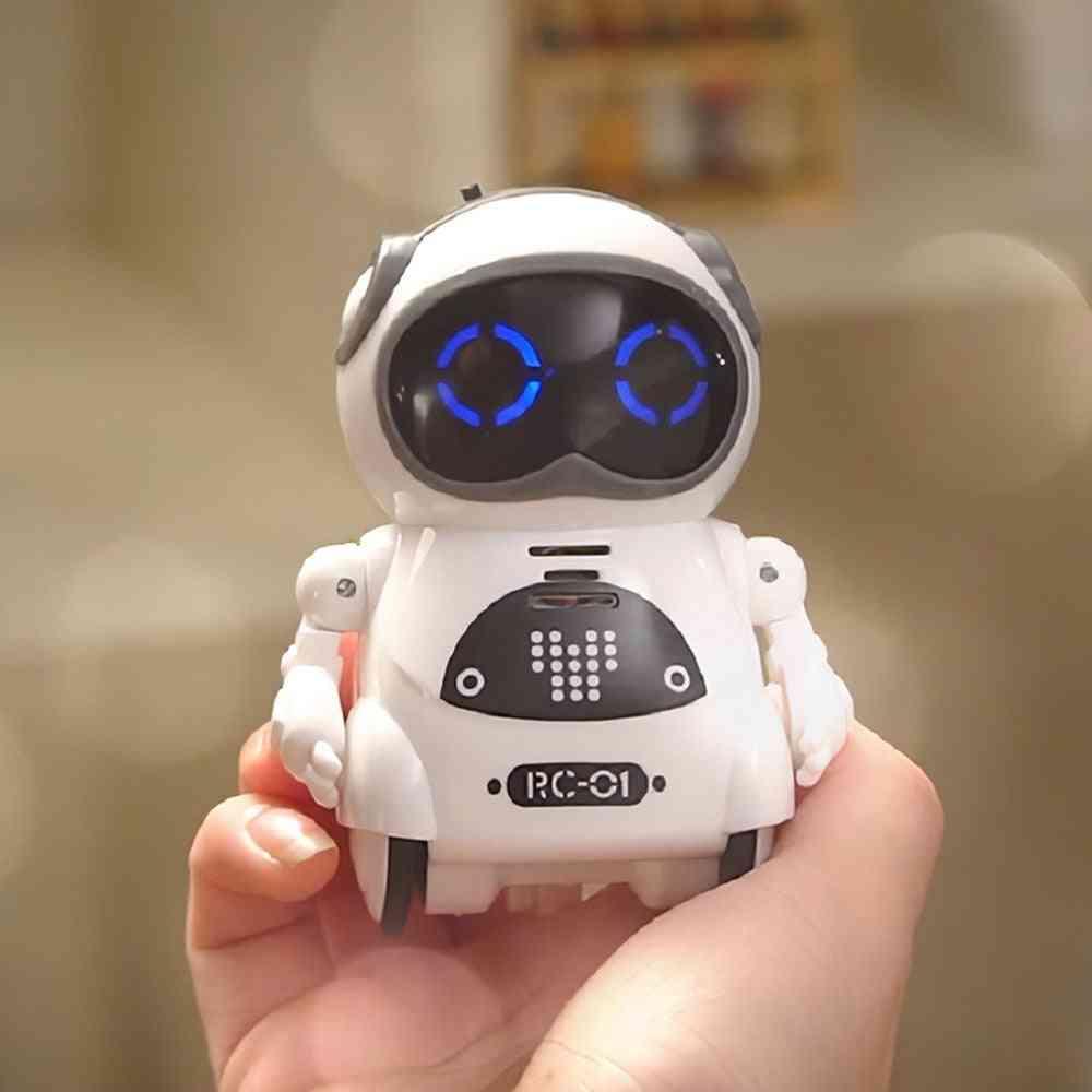 Interactive Pocket Size, Remote Control Talking Robot