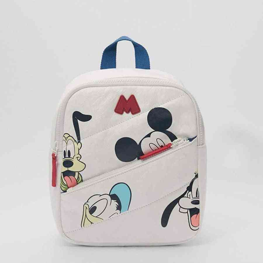 Mickey Mouse/minnie Pattern Backpack