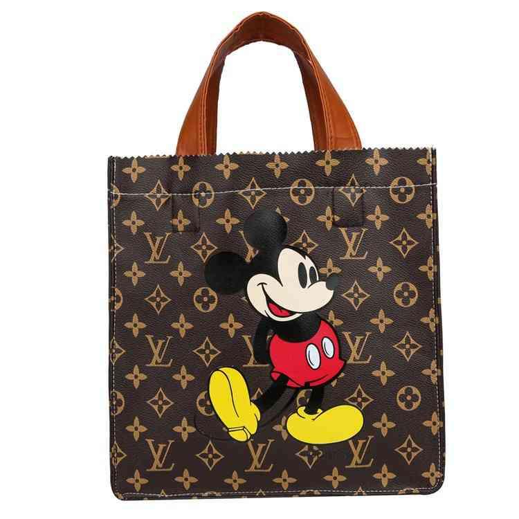 Children's Mickey Mouse Handbag, Cartoon Women Shoulder Bags