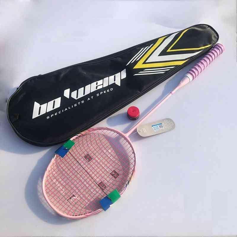 Badminton Racket With Bag - G5 Ultralight Handle