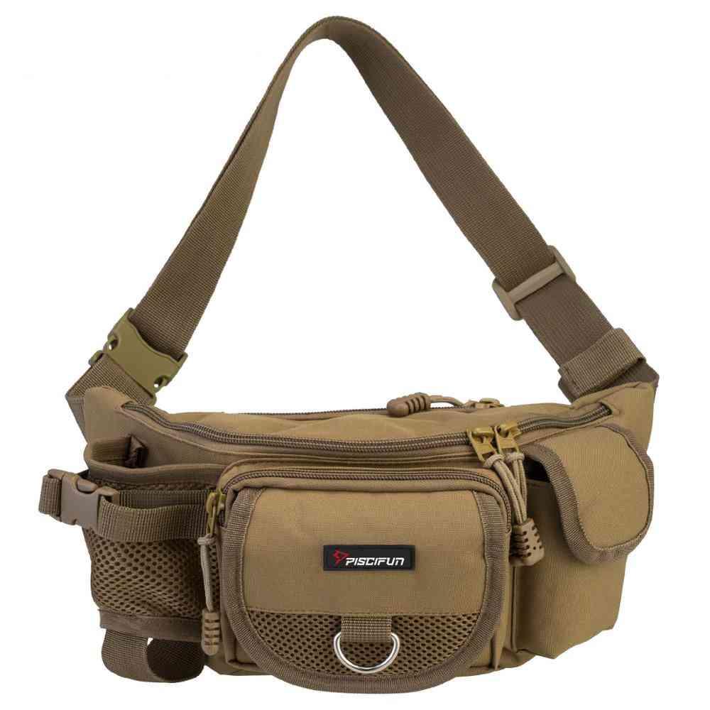 Multifunctional And Portable Waist Fishing Bag