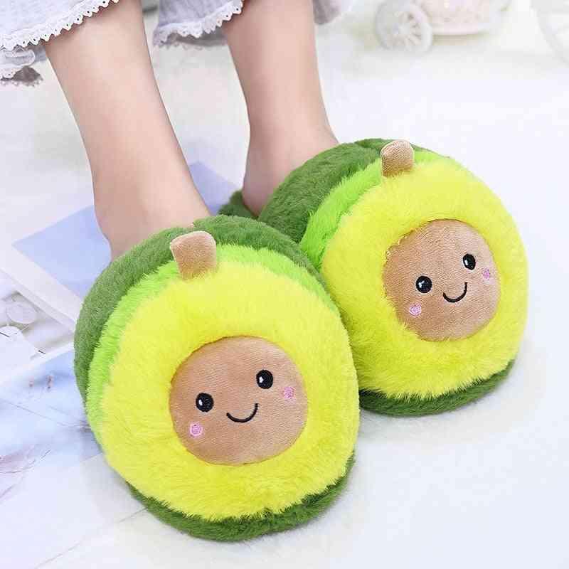 Cute Pattern, Soft Warm Cotton Floor Slippers