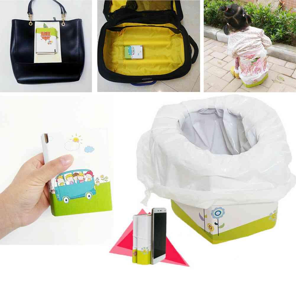 Children's Mini Travel Collapsible Portable Toilet
