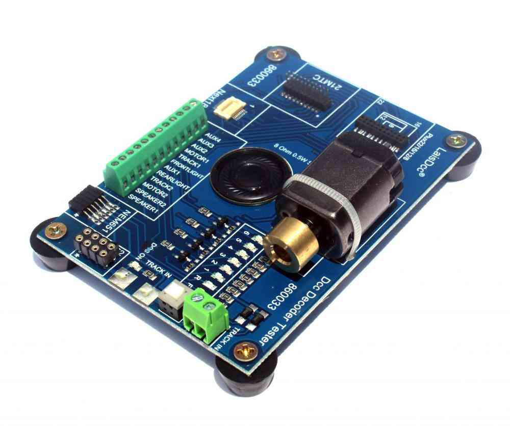 Decoder Tester Pro For Model Train And Railway Fans
