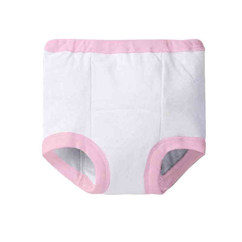 Baby Floral Print High Waist Diaper Panty Potty Training Pants For /