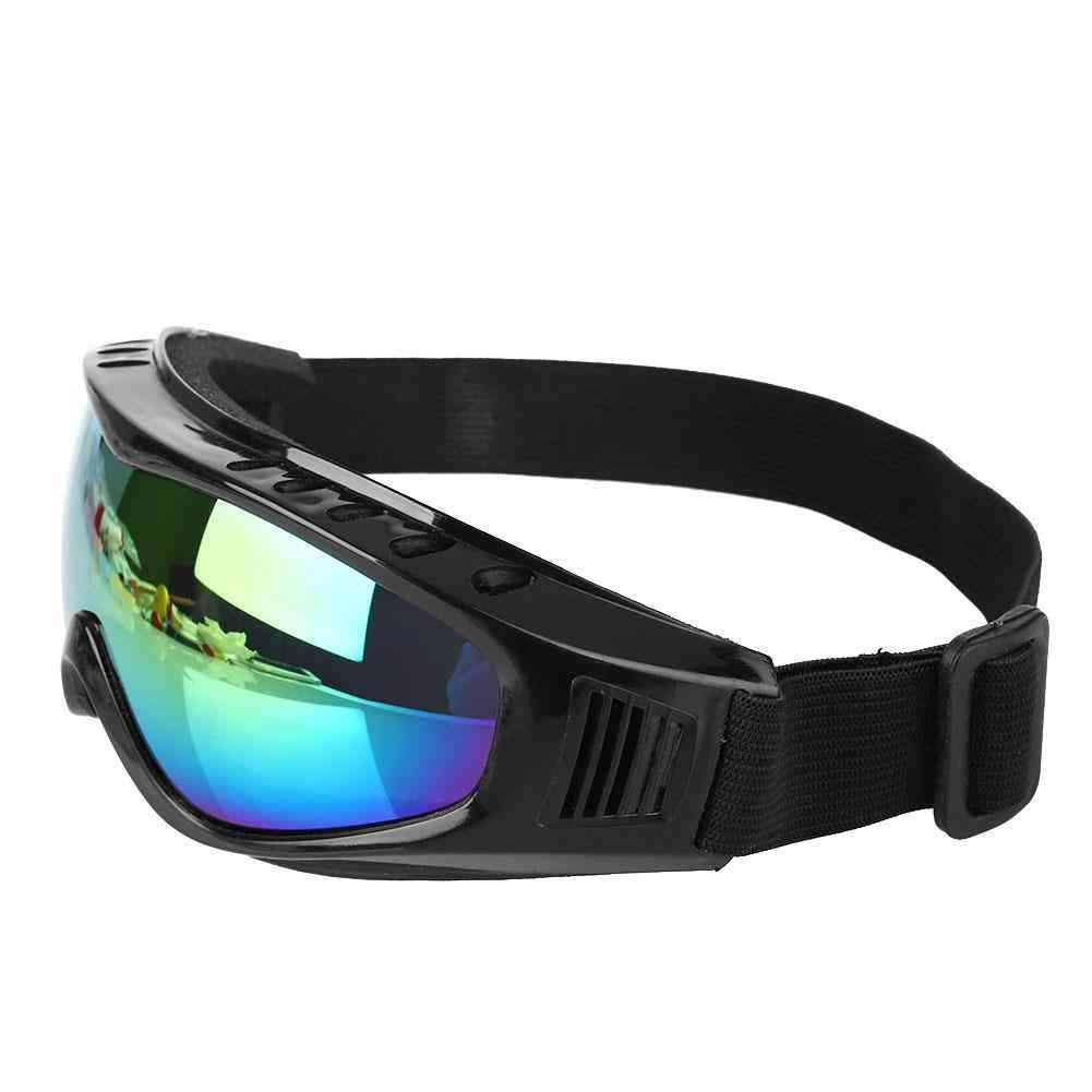Anti-uv, Windproof And Fog/sand Protective Snowboarding Goggles