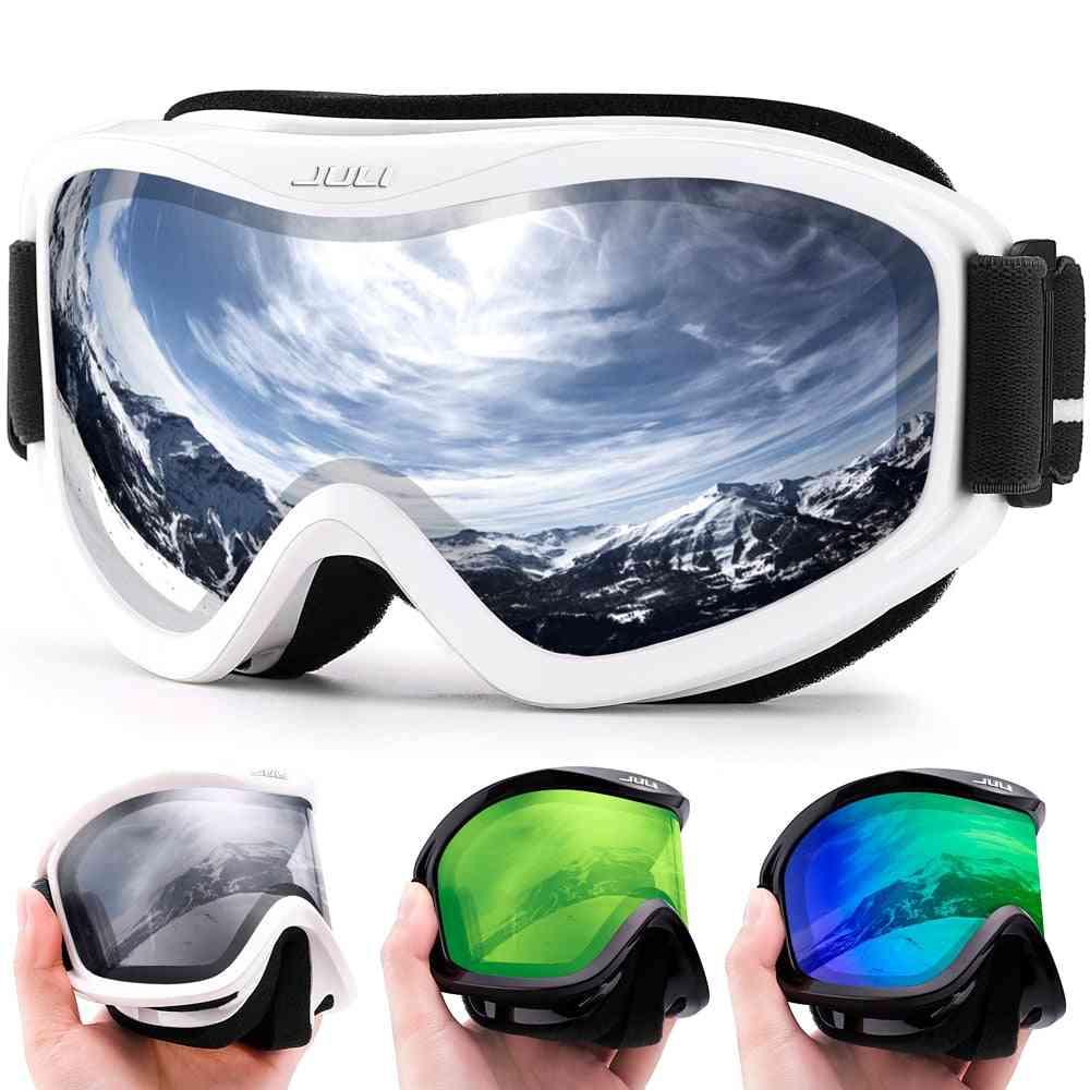 Professional Double Layers Lense Ski Goggles